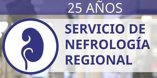 25 años Servicios de nefrología regional