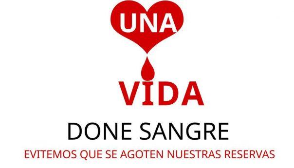 Salve vidas, done sangre