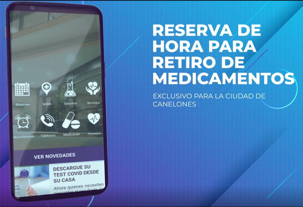 RESERVA DE HORA PARA RETIRO DE MEDICAMENTOS