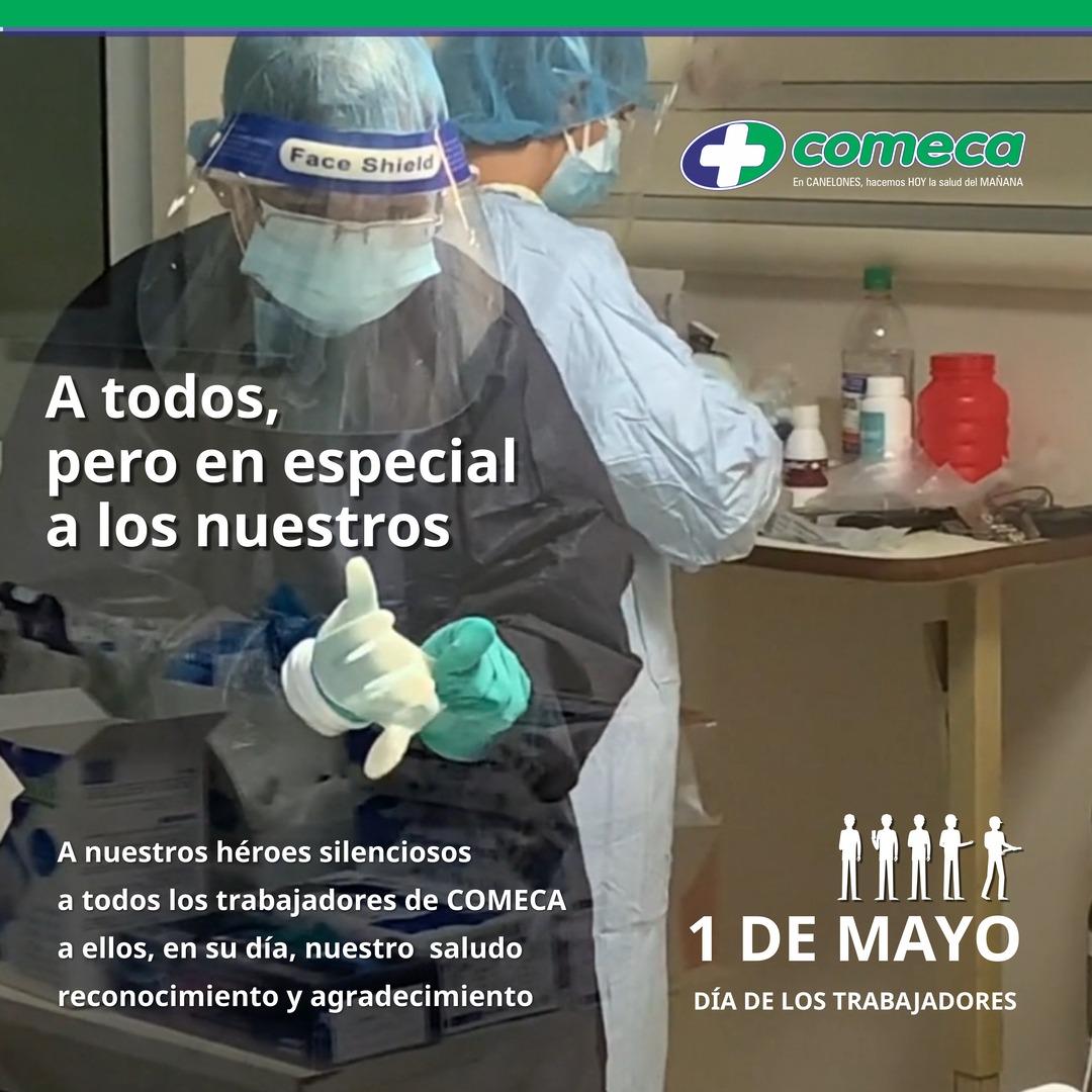 1 de mayo, Día de los Trabajadores.