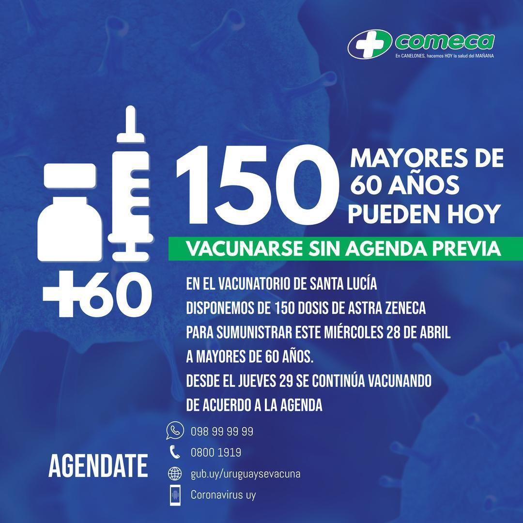 Disponemos de 150 dosis de la vacuna Astra Zeneca contra COVID-19