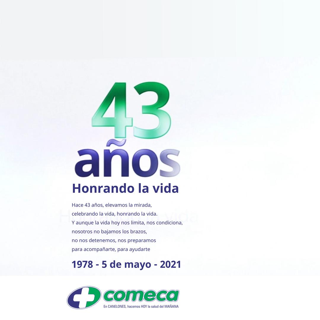 43 ANIVERSARIO DE COMECA