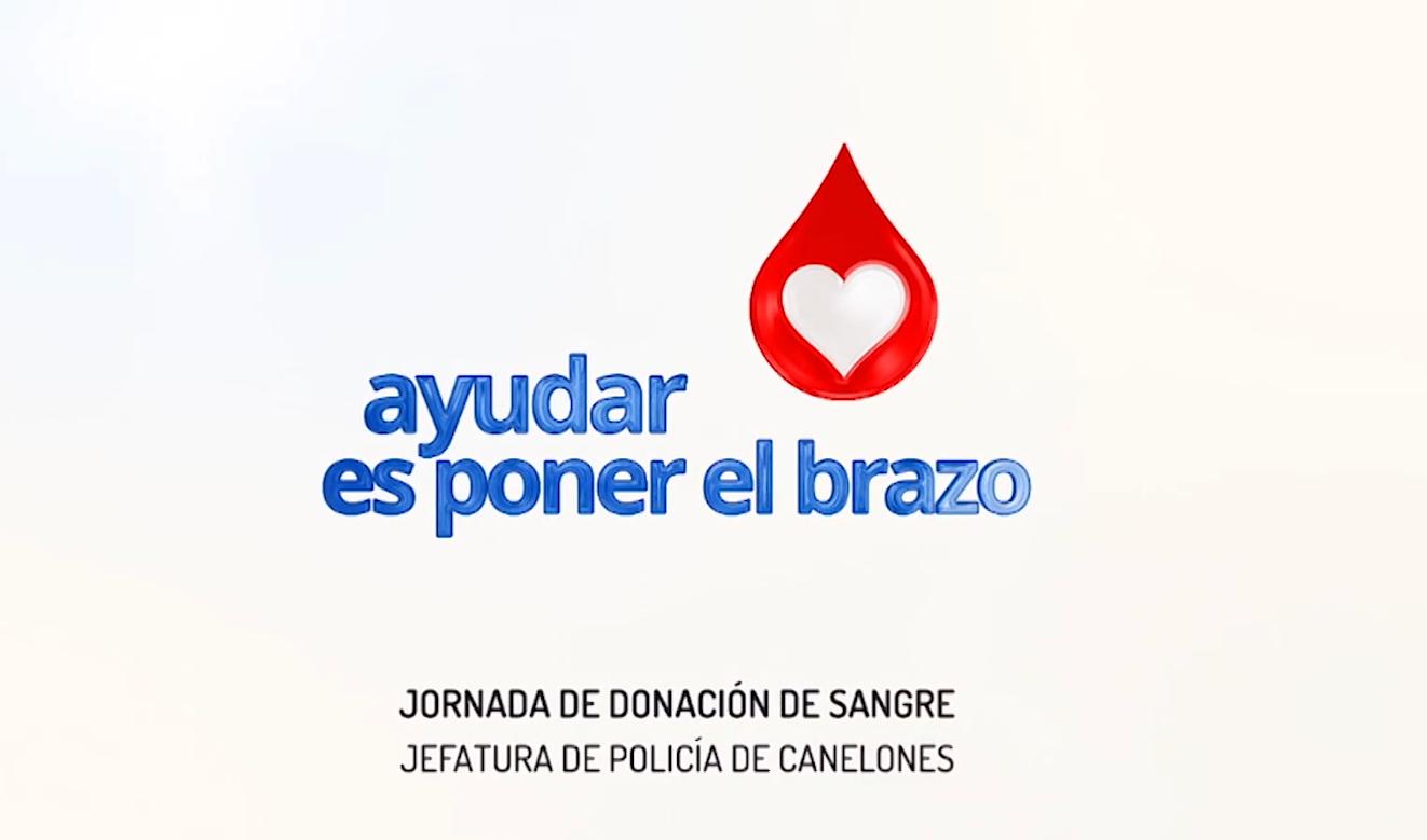 JORNADA DONACION VOLUNTARIA DE SANGRE EN JEFATURA DE POLICIA