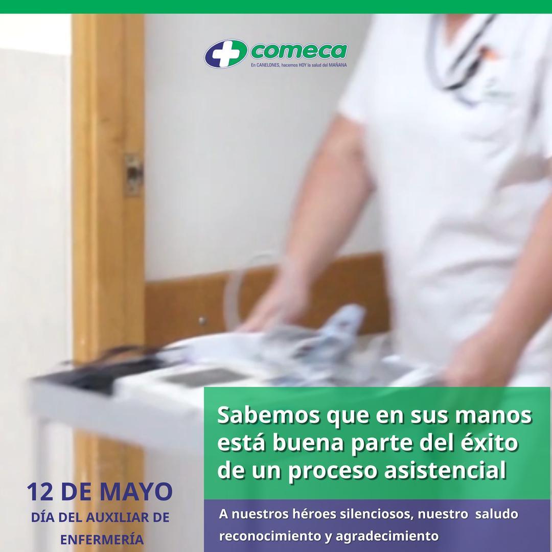 12 de Mayo Día del Auxiliar de Enfermería