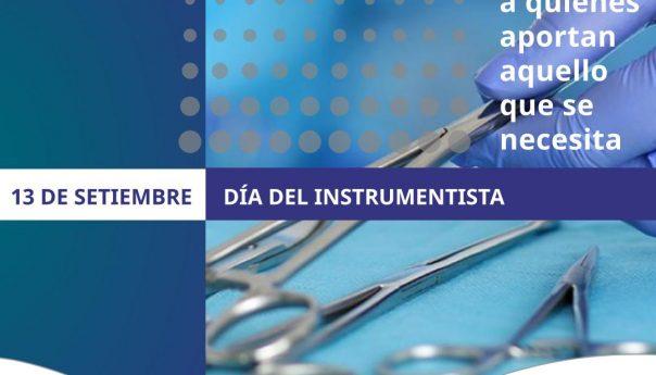 13 de Setiembre, Día del Instrumentista