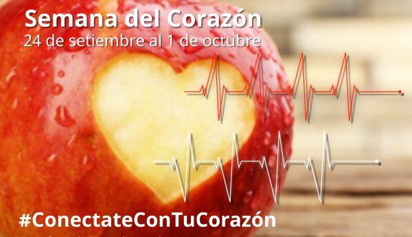 Semana del corazón 24 de setiembre al 1 de octubre
